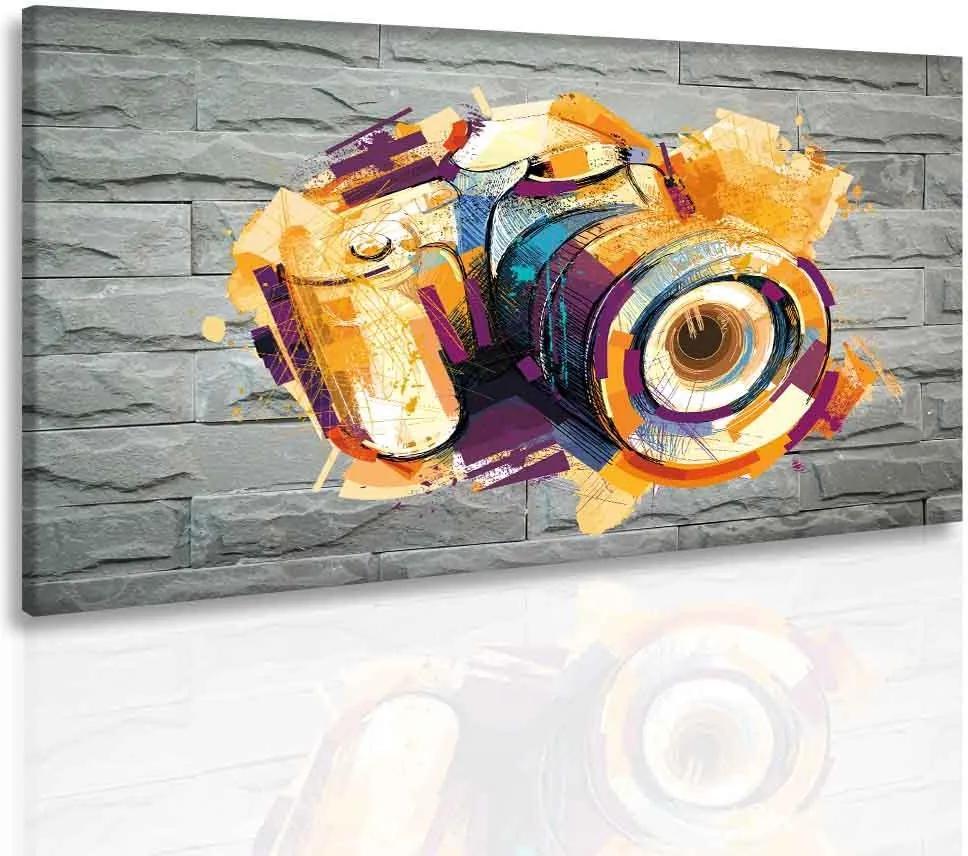 InSmile Obraz foťák ve zdi(90x60 cm)