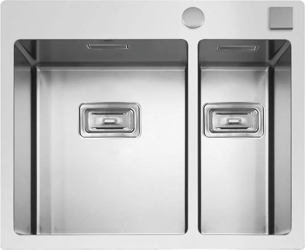 Sinks nerezový drez BOXER 585.1 FI