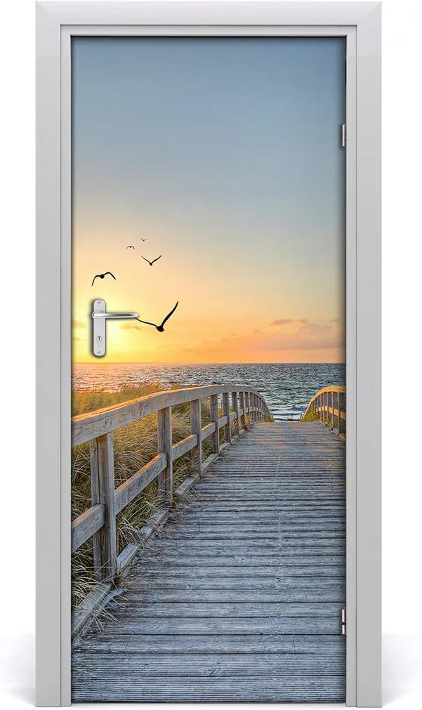 Fototapeta na dvere  Chodník na pláž