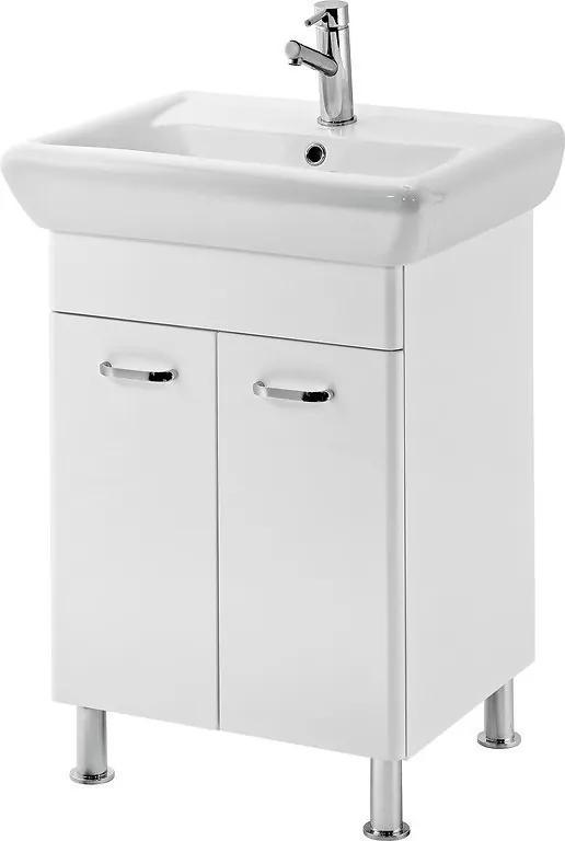 Umývadlová skrinka + umývadlo CERSANIT ALPINA