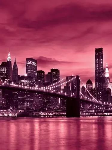 Vliesové fototapety, rozmer 208 x 146 cm, Brooklyn Bridge, IMPOL TRADE 230 VEXL