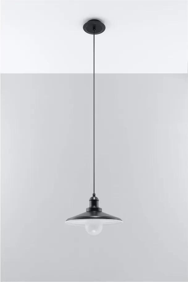 Čierne stropné svetlo Nice Lamps Isola Una