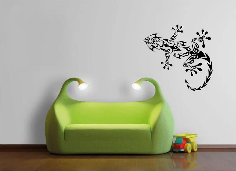 Vinylová samolepka na stenu, jašterica
