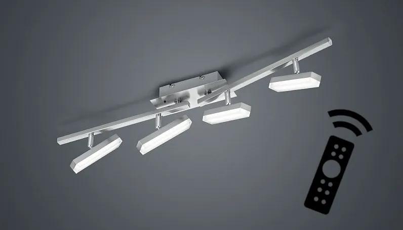 TRIO Reality R82424107 Bondy Spot LED 4x3W 320lm 3000K s ovládačom s ovládačom