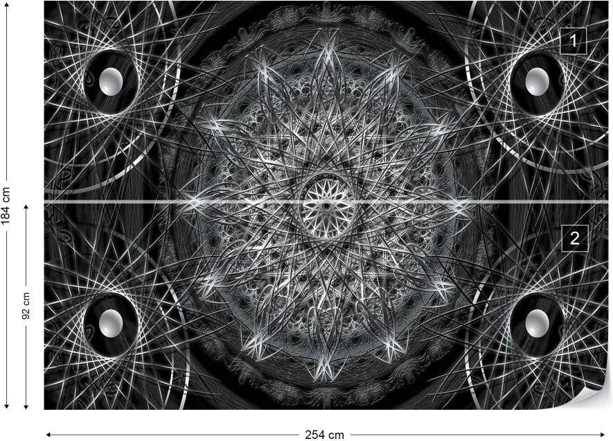 Fototapeta GLIX - 3D Dreamcatcher  + lepidlo ZADARMO Papírová tapeta  - 254x184 cm