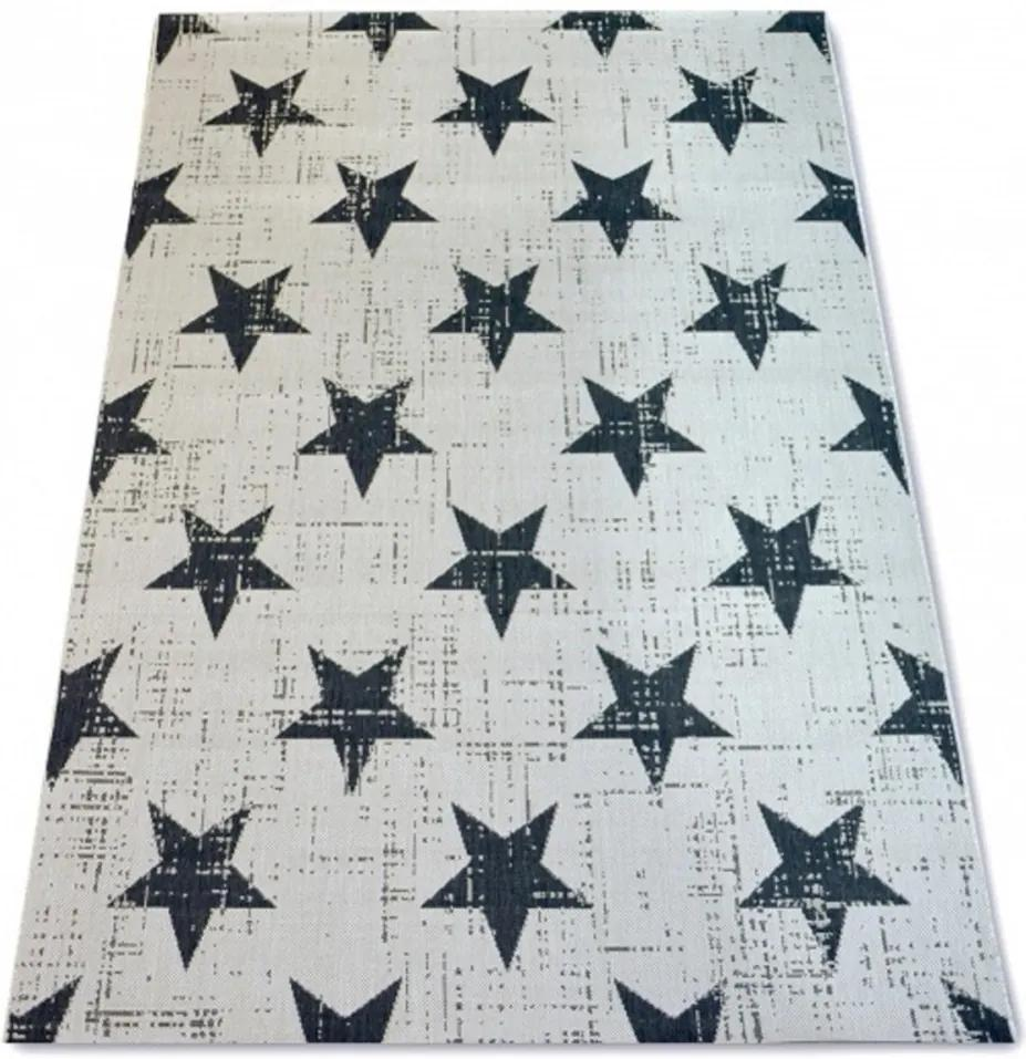 Kusový koberec Stars krémový, Velikosti 120x170cm