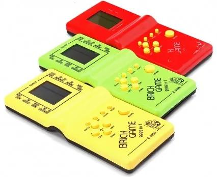 Elektronická hra Tetris Ružová