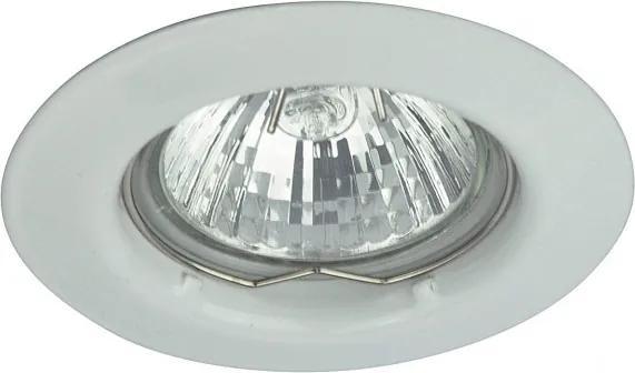 Rábalux Spot relight 1087 Zápustné Svietidlá do Sadrokartónu biely GU5.3 12V 1x MAX 50W Ø80.5 mm