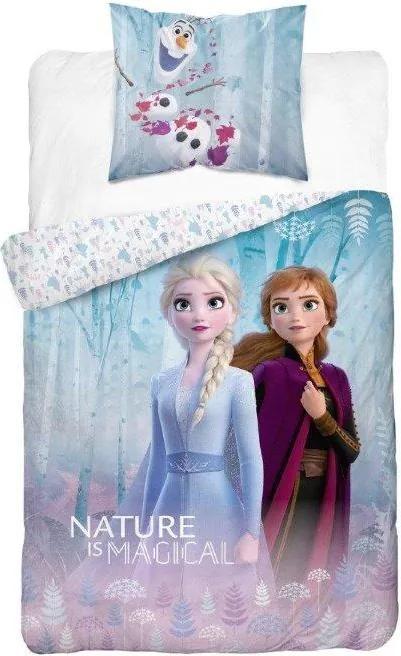 Detské obliečky Ľadové kráľovstvo biele