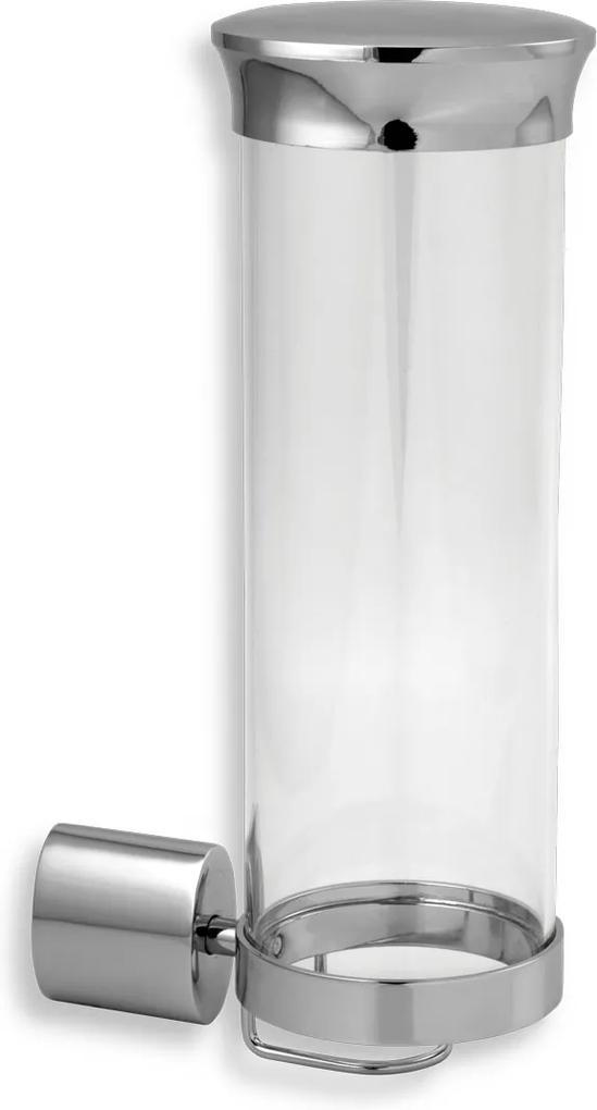 Novaservis Metalia 10 0072,0 zásobník na kozmetické tampóny sklo