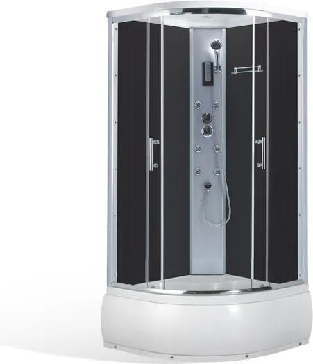 Roltechnik Sprchovací masážny box ELECTRA DEEP_1000 100x100 cm Brillant