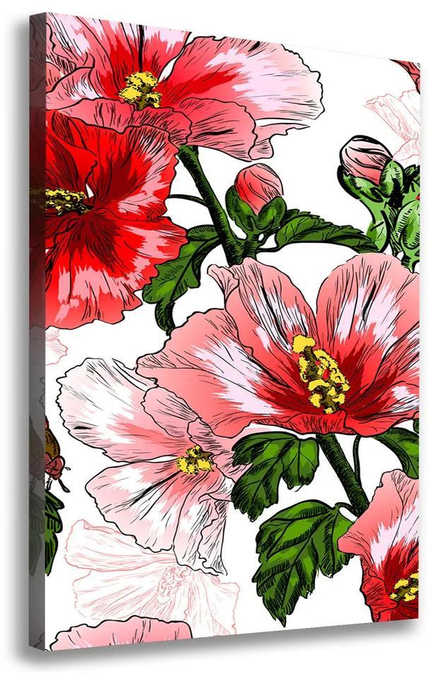 Moderný obraz canvas na ráme Ibištek pl-oc-70x100-f-65039906
