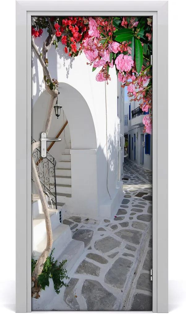 Fototapeta samolepící na dveře Řecká venisce
