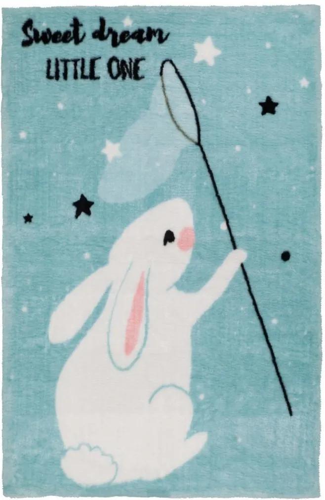 Obsession koberce Dětský kusový koberec Lollipop 181 Bunny - 120x170 cm