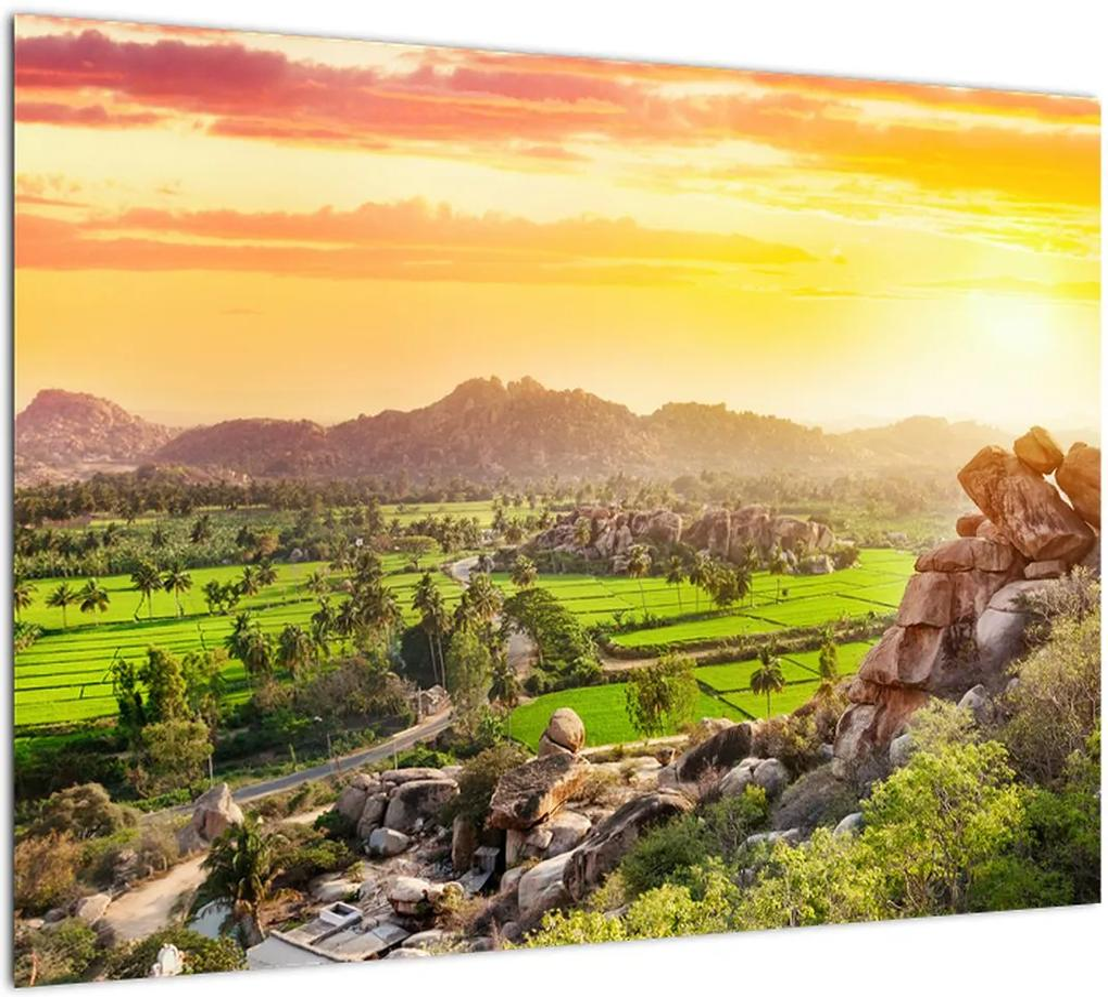 Obraz Hampi údolí v Indii (70x50 cm), 40 ďalších rozmerov