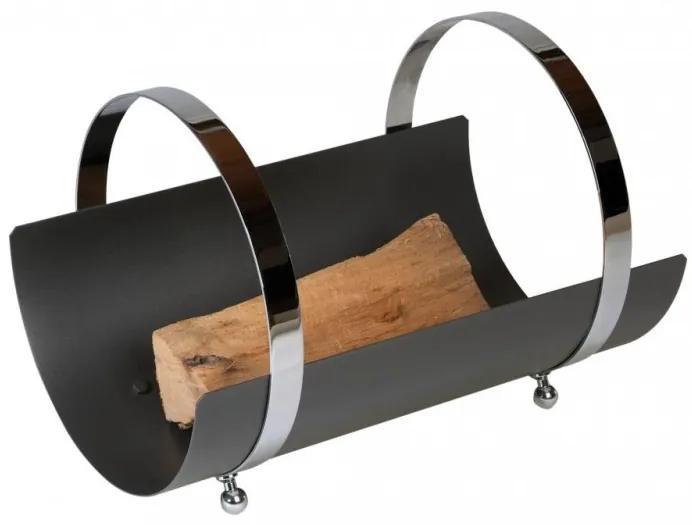 Kôš na drevo Lienbacher 5 - čierný
