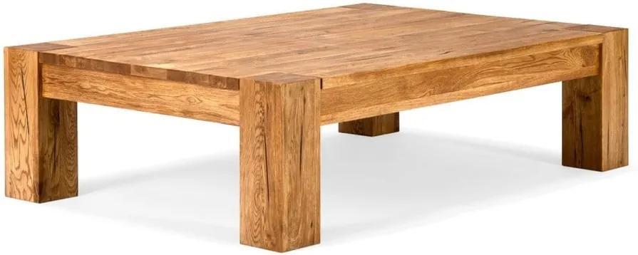 Konferenčný stolík z dubového dreva SOB ... c828af7a577