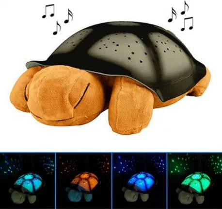 DR Magická svietiaca korytnačka (detská lampa s projektorom a melódiou) Zelená