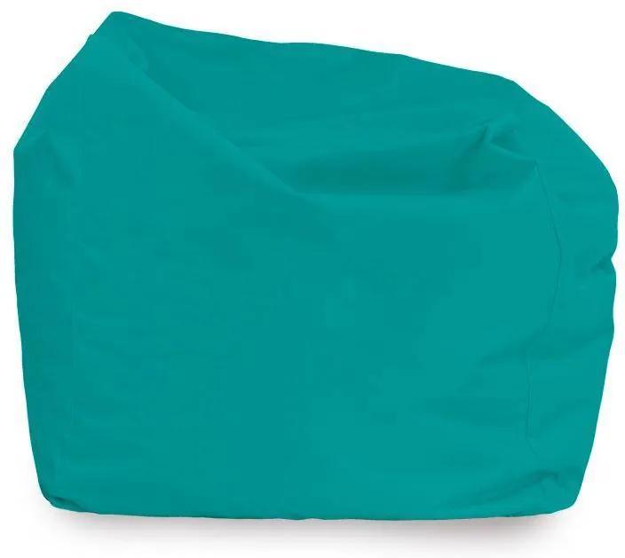 Sedací vak AMALFY nylon - tyrkysový