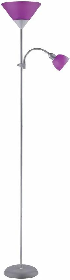 Rabalux 4020 Action stojaca lampa, fialová