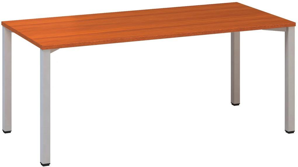 Kancelársky písací stôl CLASSIC B, 1800x800 mm, dezén čerešňa