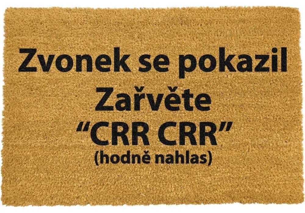 Rohožka z prírodného kokosového vlákna Artsy Doormats Crr!, 40 x 60 cm
