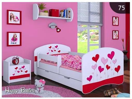 MAXMAX Detská posteľ so zásuvkou 160x80cm LOVE