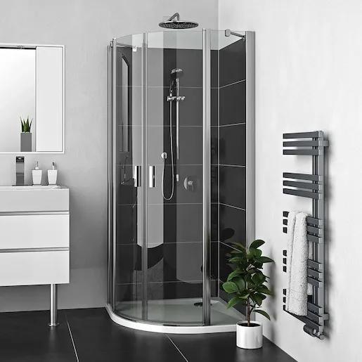 Sprchový kút Roltechnik štvrťkruh 80 cm, univerzálny 225-8000000-00-02
