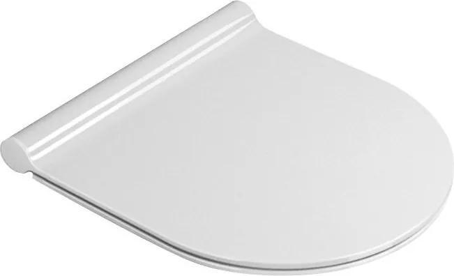 Norm MS76SN11 WC sedátko Soft Close SLIM, duroplast, biele