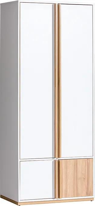MEBLINE E1 Šatník 2D VADO