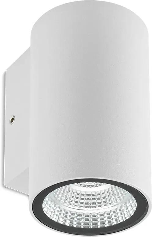 Vonkajšie nástenné svietidlo REDO RAM biela 90075