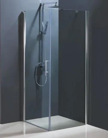 Sprchové dveře HOPA MADEIRA II - Frost sklo - Pravé (DX), Hliník chrom, Frost bezpečnostní sklo - 6 mm, 95 cm (BCMADE295CFP)