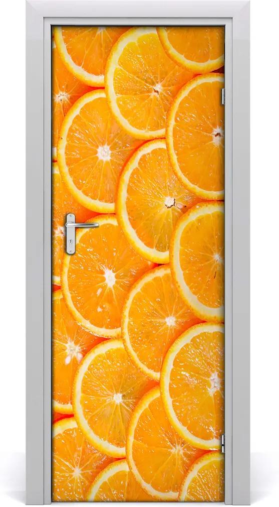 Fototapeta na dveře samolepící Pomeranče