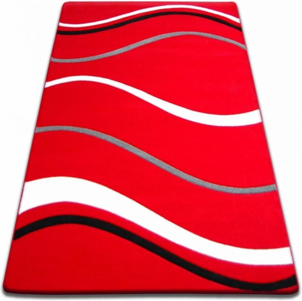 Kusový koberec Tiga červený, Velikosti 240x330cm
