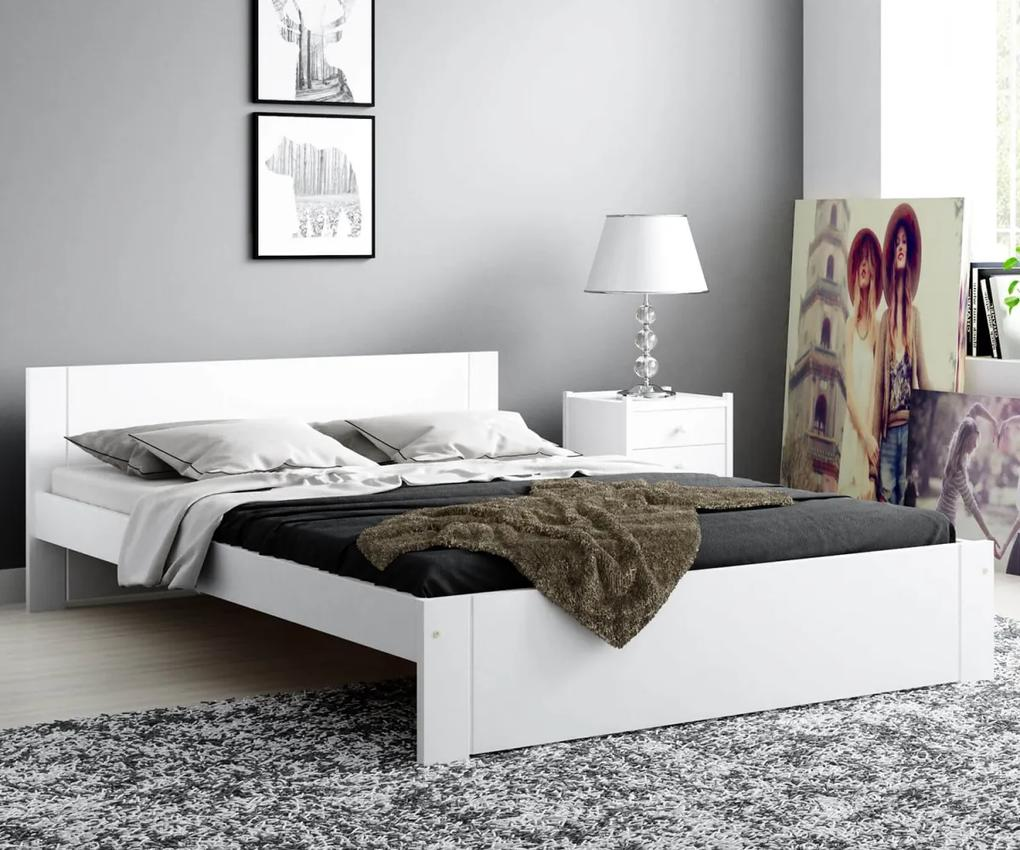 AMI nábytok Postel DMD9 120x200cm bílá