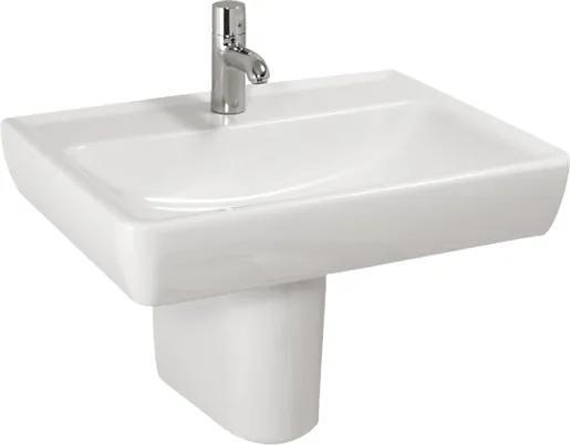 Umývadlo Laufen Laufen Pro 55x48 cm s otvorom uprostred H8189510001041
