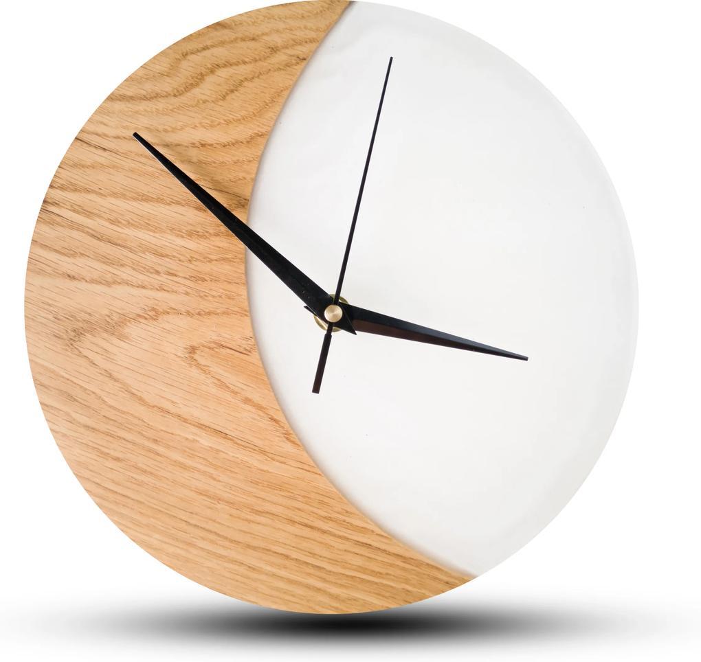 TIMMER wood decor Duna - Živicové drevené hodiny