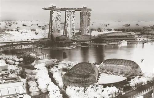 Luxusné vliesové fototapety, rozmer 418,5 cm x 270 cm, Singapore, P+S International CL69A