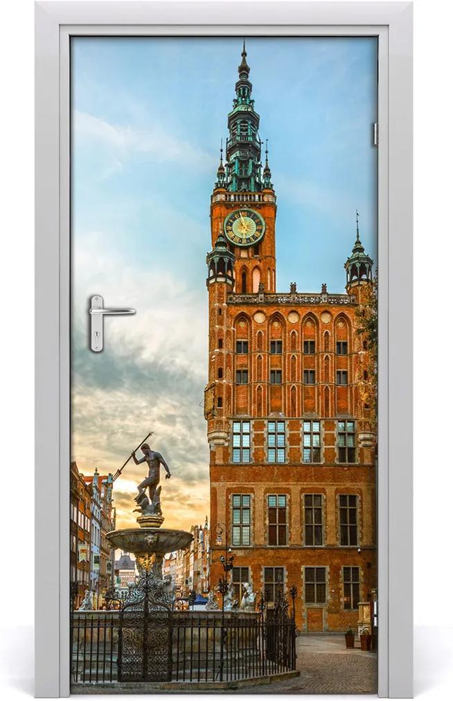 Fototapeta samolepící na dveře Gdaňsk polsko