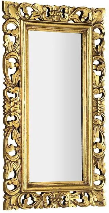 Samblung IN110 zrkadlo v ráme, 40x70cm, zlaté