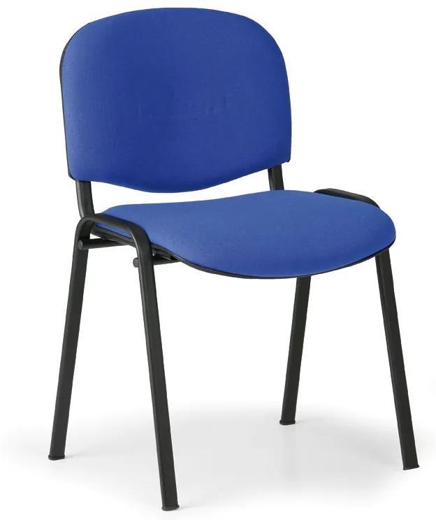 Konferenčná stolička VIVA 3+1 ZADARMO, modrá