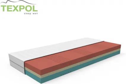 Komfortný matrac TARA s úpravou proti poteniu 195 x 80 cm Trimtex
