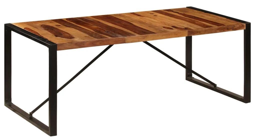 vidaXL Jedálenský stôl 200x100x75 cm, drevený masív sheesham