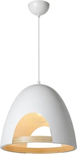 Lucide 75401/01/31 Elegantné závesné svietidlo GAILLON Pendel E27 _39cm biele