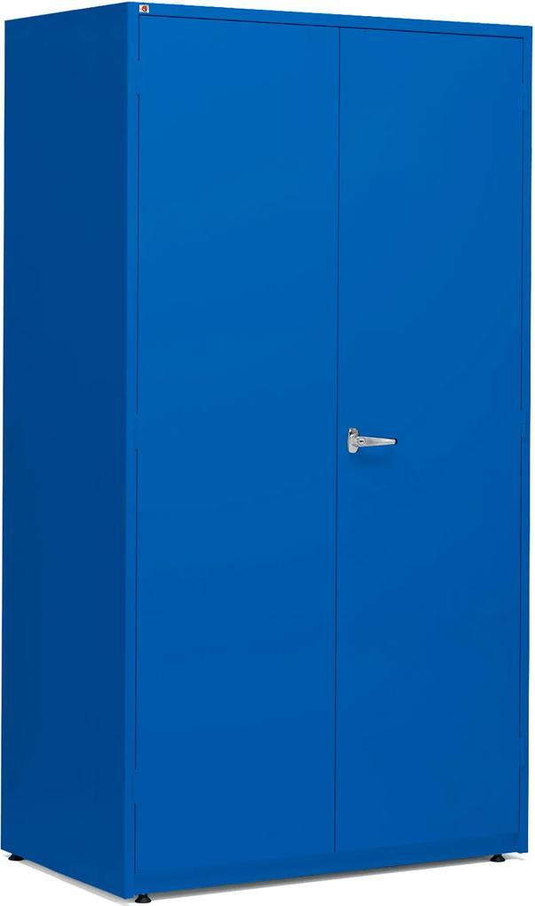 d78ab06d79c1a Kovová skriňa na náradie, 1900x1020x635 mm, modrá | Biano