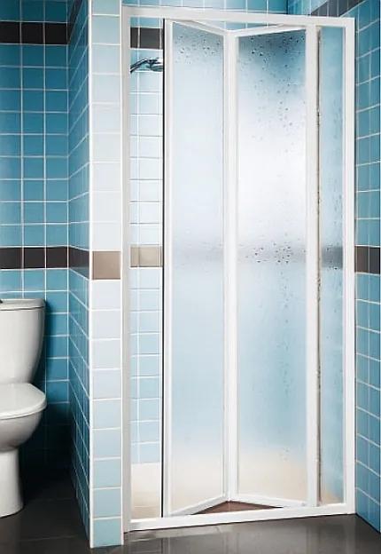 RAVAK SUPERNOVA SDZ3-90 sprchové dvere zalamovacie, white + pearl 02V7010011