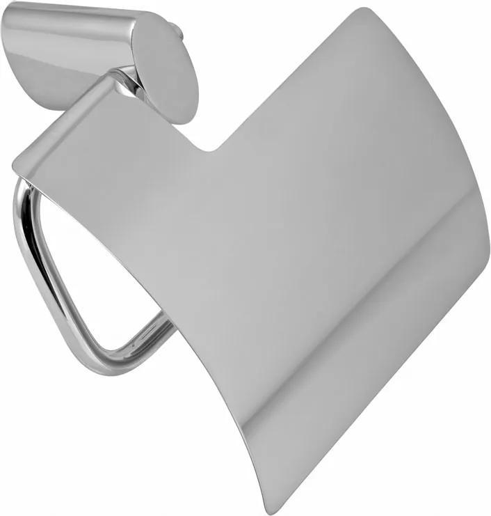 Novaservis Metalia 10 0038,0 držiak toaletného papiera s krytom