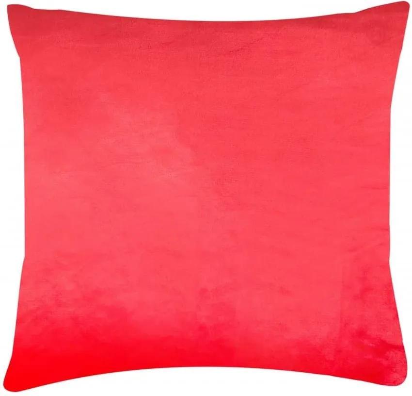 XPOSE ®Mikroplyšový povlak na polštář - červená 40x40
