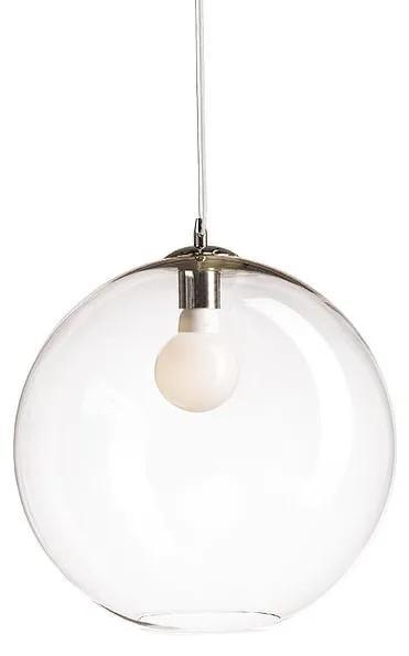 Závesné svietidlo RENDL BISOU 40  číre sklo/chróm R10506