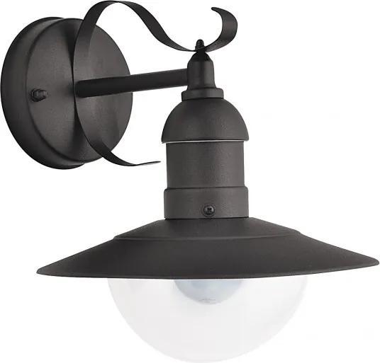 Rábalux Oslo 8680 Vonkajšie Nástenné Lampy  čierny   kov   E27 1x MAX 60W   IP44
